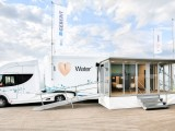 Geberit AquaClean truck showroom