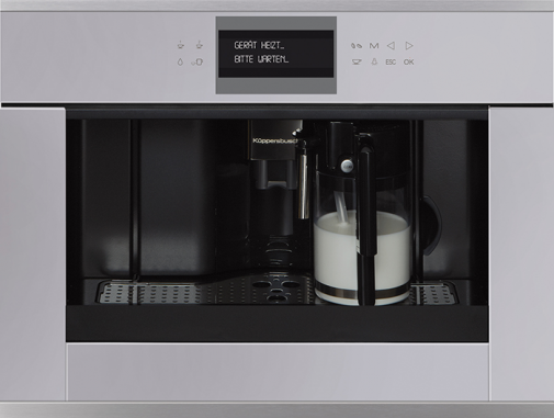 Mat. Comitor_Kueppersbusch_BUILT-IN FULLY AUTOMATIC COFFEE MACHINE_CKV6550.0G