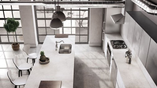 3_Silestone Kitchen - Silver Lake (flooring Brooklyn_Cosentino