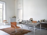 MR Chair with Florence Knoll Table